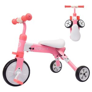 XJD 2 in 1 Kids Glide Tricycles