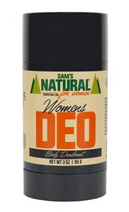 best deodorant for sweaty woman
