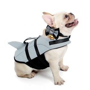 Jacket Shark Dog Swimming Vest