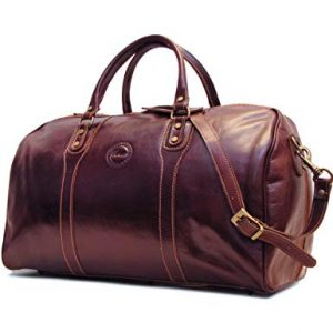 Duffle Vecchio Brown Leather Travel Bag