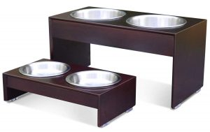 dog bowl stand diy