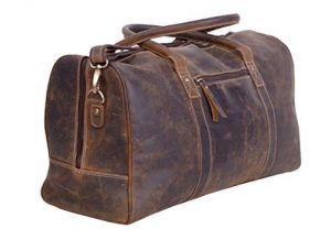 leather duffle bag mens