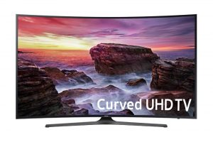 Curved 55-Inch 4K Ultra LED TV