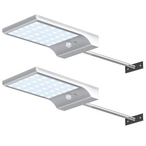 Solar Gutter Lights Wall
