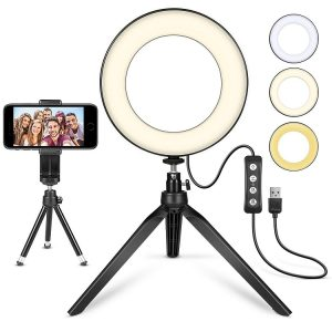 LED Ring Light by MACTREM