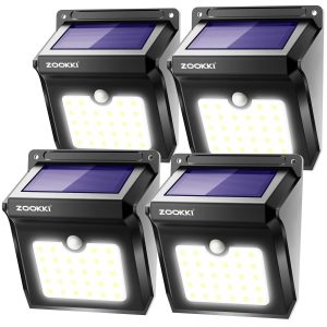 Sensor Lights Outdoor by ZOOKKI