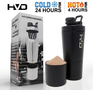 Cold Protein Shaker Water Bottle