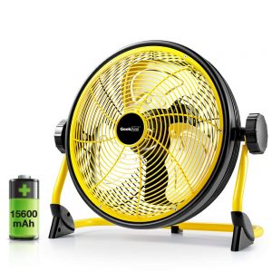 Battery Operated Floor Fan