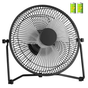 battery operated fans rechargeable