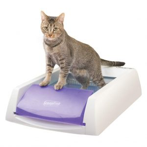 Self-Cleaning Cat Litter Box
