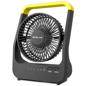Operated Desk Fan with Timer