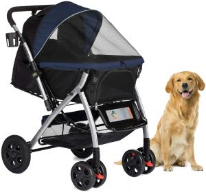 Heavy Duty Dog/Cat/Pet Stroller