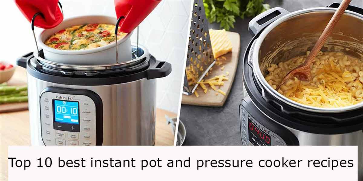 Top 10 best instant pot and pressure cooker recipes